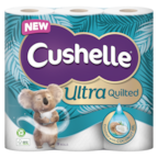 Cushelle Ultra Quilted Coconut