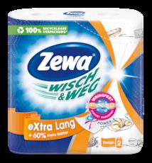 Zewa Wish & Weg Extra Long Design