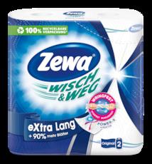 Zewa Wish & Weg Extra Long