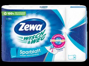 Zewa Wisch & Weg Sparblatt háztartási papírtörlő