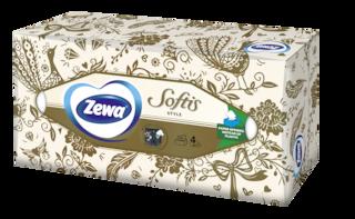 Zewa Серветки косметичні  Softis Box