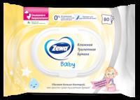 Zewa Влажная туалетная бумага Baby