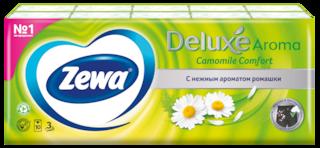 Zewa Deluxe Ромашка, 3 слоя