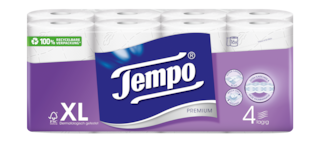 Tempo WC Papier Premium 4 lagig