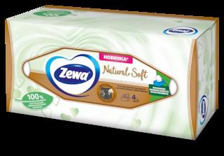 Zewa Natural Soft, 4 слоя