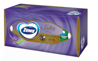 Zewa Softis Lavender με άρωμα