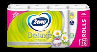 Zewa Deluxe Camomile