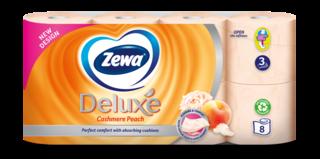 Zewa Deluxe Peach