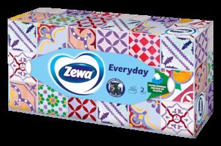 Zewa Everyday dobozos papír zsebkendő