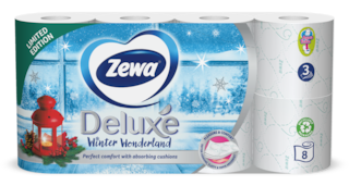 Zewa Deluxe Winter Wonderland