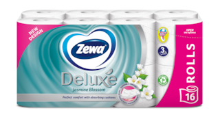 Zewa Deluxe Jasmine Blossom wc papír