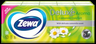 Zewa Deluxe Camomile Comfort papír zsebkendő
