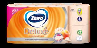 Zewa Deluxe Cashmere Peach wc papír