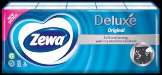 Zewa Deluxe Normál papír zsebkendő