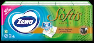 Zewa Softis Protect papír zsebkendő