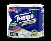 Tempo Carta Igienica Natural&Soft