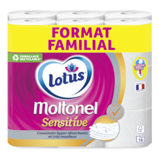 Lotus Papier toiletteMoltonel Sensitive