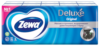 Zewa Deluxe Original, 3 слоя