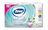 Zewa Туалетная бумага  Deluxe Жасмин, 3 слоя