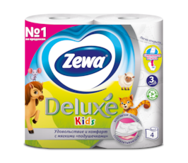 Zewa Туалетная бумага  Kids Детская, 3 слоя