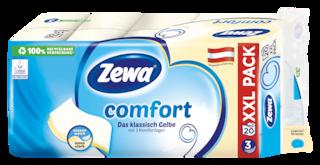 Zewa comfort Das klassisch Gelbe