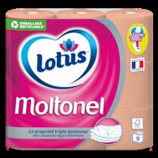 Lotus Papier toiletteMoltonel Pèche