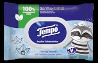 Tempo Feuchte Toilettentücher Sanft für Kinder