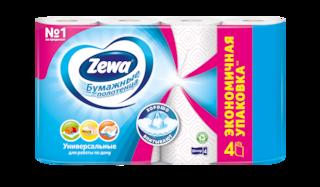 Zewa Бумажные полотенца  Standard Декор