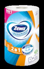 Zewa Бумажные полотенца  Standard 2в1