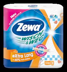 Zewa Паперові рушники  Wisch&Weg Декор