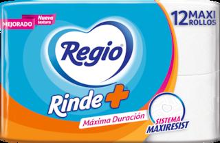 Regio Papel Higiénico  Rinde Más