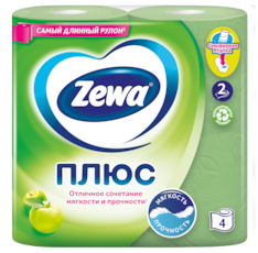 Zewa Туалетная бумага  Плюс Яблоко, 2 слоя