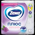 Zewa Туалетная бумага  Плюс Сирень, 2 слоя