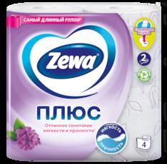 Zewa Туалетний папір  Плюс Аромат бузку
