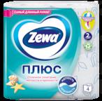 Zewa Туалетная бумага  Плюс Свежесть океана, 2 слоя
