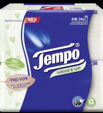 Tempo Natural & Soft zakdoekjes