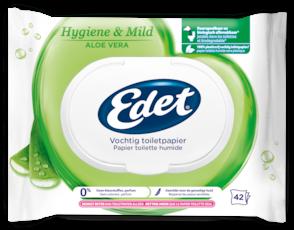 Edet vochtig toiletpapier aloe vera