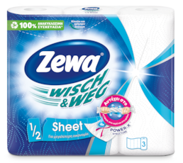Zewa Wisch&Weg 1/2 Sheet
