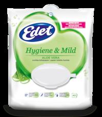 Edet vochtig toiletpapier aloe vera in pouch