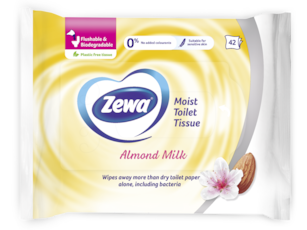 Zewa Almond Milk Moist