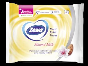 Zewa Almond Milk nedves toalettpapír