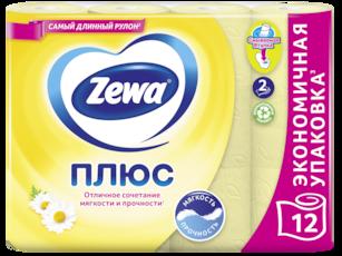 Zewa Туалетний папір  Плюс Ромашка