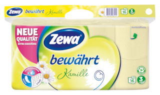 Zewa bewährt Kamille