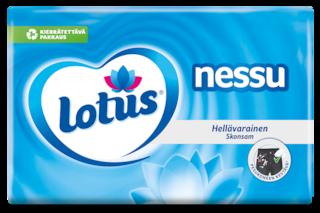 Lotus Nessu-taskunenäliinat