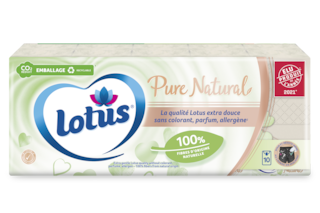 Lotus Etuis mouchoirs  Pure Natural
