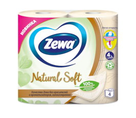 Zewa Туалетний папір  Natural Soft
