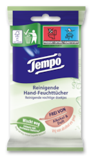 Tempo Reinigende Hand-Feuchttücher