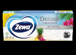 Zewa Deluxe Tropical Dreams