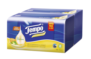Tempo soft & sensitive Taschentuch Box