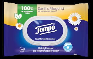 Tempo Feuchte Toilettentücher sanft&pflegend